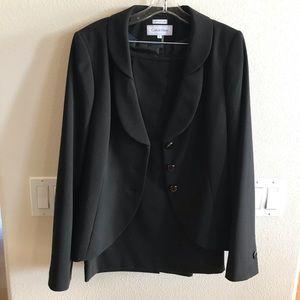 2 pc Calvin Klein blazer & skirt suit set